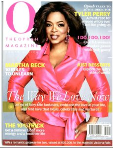 O Magazine Cover Feb
